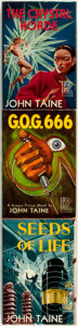 Books:Science Fiction & Fantasy, John Taine (pseudonym of Eric Temple Bell). The Crystal Horde, 1952 [with] G.O.G. 666, 1954 [with] Seeds... (Total: 3 Items)