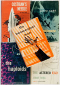 Books:Science Fiction & Fantasy, Jerry Sohl. The Altered Ego, 1959 [with] Costigan's Needle, 1953 [with] The Haploids, 1952 [with] ... (Total: 5 Items)