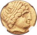 Ancients:Celtic, Ancients: GAUL. The Arverni. Ca. 3rd-2nd centuries BC. AV stater(18mm, 8.21 gm, 8h)....