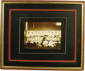 Baseball Collectibles:Photos, 1903 Chicago Cubs Team Photograph. Historic image affords theviewer the first glimpse of a team featuring the trio Frankli...