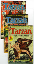 Bronze Age (1970-1979):Miscellaneous, Tarzan #207-229 and 237 Group of 24 (DC, 1972-75) Condition: VF.First 23 DC issues, plus #237. All Joe Kubert covers. Artis...(Total: 24 Comic Books)