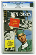 Silver Age (1956-1969):Miscellaneous, Ben Casey Film Stories #1 File Copy (Gold Key, 1962) CGC NM 9.4White pages. Photo story. Overstreet 2005 NM- 9.2 value = $1...