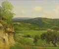 Texas:Early Texas Art - Impressionists, PORFIRIO SALINAS (1910-1973). Untitled Hill Country Valley. Oil oncanvas. 20 x 24 inches (50.8 x 61.0 cm). Signed lower lef...