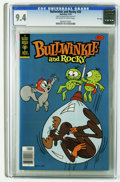 Bronze Age (1970-1979):Cartoon Character, Bullwinkle #20 File Copy (Gold Key, 1979) CGC NM 9.4 Off-white towhite pages. Overstreet 2005 NM- 9.2 value = $18. CGC cens...