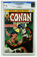 Bronze Age (1970-1979):Miscellaneous, Conan the Barbarian #38 (Marvel, 1974) CGC NM+ 9.6 Off-white towhite pages. Only two copies of this issue have earned a hig...