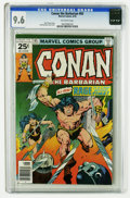Bronze Age (1970-1979):Miscellaneous, Conan the Barbarian #65 (Marvel, 1976) CGC NM+ 9.6 Off-white pages.Tied with two other copies for highest-graded of this is...