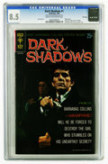 Silver Age (1956-1969):Horror, Dark Shadows #1 File Copy (Gold Key, 1969) CGC VF+ 8.5 Cream tooff-white pages. Photo front and back covers featuring Barna...