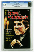 Silver Age (1956-1969):Horror, Dark Shadows #4 File Copy (Gold Key, 1970) CGC NM 9.4 Cream tooff-white pages. Photo cover. Joe Certa art. Overstreet 2005 ...