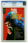 Bronze Age (1970-1979):Horror, Dark Shadows #5 File Copy (Gold Key, 1970) CGC NM 9.4 Off-white towhite pages. Photo cover. Joe Certa art. Overstreet 2005 ...