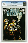 Bronze Age (1970-1979):Horror, House of Secrets #103 (DC, 1973) CGC NM 9.4 White pages. BernieWrightson cover. Art by Sergio Aragones, Rico Rival, Jack Sp...