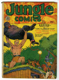 Golden Age (1938-1955):Adventure, Jungle Comics #10 (Fiction House, 1940) Condition: GD+. George Tuska art. Overstreet 2005 GD 2.0 value = $77....