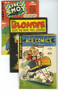 Golden Age (1938-1955):Miscellaneous, Miscellaneous Golden Age Group (Various Publishers, 1941-56) Condition: Average GD. Low-grade reader copies of the following... (Total: 24 Comic Books)