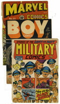Golden Age (1938-1955):Miscellaneous, Miscellaneous Golden Age Miscellaneous Group (Various Publishers, 1940s). Missing covers for your Golden Age comics? Or, may... (Total: 5 Items)
