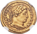 Ancients:Roman Imperial, Ancients: Constantine I the Great (AD 307-337). AV solidus (17mm,4.42 gm, 6h)....