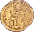 Ancients:Byzantine, Ancients: Romanus III Argyrus (1028-1034). AV histamenon nomisma(24mm, 4.42 gm, 6h)....