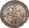 Netherlands East Indies, Netherlands East Indies: Dutch Colony - United East India CompanyDucaton 1738 AU53 NGC,...