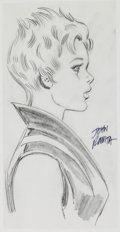 Original Comic Art:Sketches, John Romita Sr. Shadowcat Costume Design Original Art (undated)....