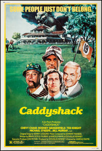 """Caddyshack (Orion, 1980). Poster (40"""" X 60""""). Comedy"""
