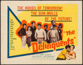 """Movie Posters:Exploitation, The Delinquents (United Artists, 1957). Half Sheet (22"""" X 28"""").Exploitation.. ..."""