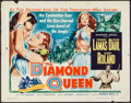 "Movie Posters:Adventure, The Diamond Queen & Others Lot (Warner Brothers, 1953). HalfSheets (3) (22"" X 28""). Adventure.. ... (Total: 3 Items)"