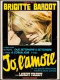 "Movie Posters:Foreign, Two Weeks in September (Excelsior, 1967). Trimmed Italian Foglio (27"" X 36.75""). Foreign.. ..."