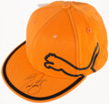 Golf Collectibles:Autographs, Ricky Fowler Signed Golf Cap....