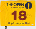 Golf Collectibles:Autographs, 2014 Rory McIlroy Signed Open Championship Flag....
