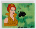Animation Art:Production Cel, He-Man and the Masters of the Universe Teela Production CelSetup, Animation Drawing, and Production Folder Group (Fil...(Total: 9 Items)