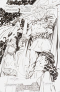 Original Comic Art:Splash Pages, John Byrne Wonder Woman #132 Splash Page Original Art (DC,1998)....