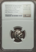Ancients:Greek, Ancients: MACEDONIAN KINGDOM. Alexander III the Great (336-323 BC).AR drachm (4.39 gm)....
