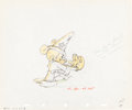 "Animation Art:Production Drawing, Mickey Mouse Fantasia ""The Sorcerer's Apprentice"" AnimationDrawing Group of 2 (Walt Disney, 1940).... (Total: 2 Original Art)"