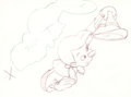 Animation Art:Production Drawing, Pinocchio Animation Production Drawing (Walt Disney, 1940)....