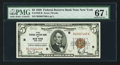 Small Size:Federal Reserve Bank Notes, Fr. 1850-B $5 1929 Federal Reserve Bank Note. PMG Superb Gem Unc 67 EPQ.. ...