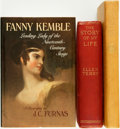 Books:Biography & Memoir, [Theatre]. Ellen Terry. The Story of My Life. London: Hutchinson & Co., 1908. ... (Total: 3 Items)