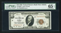 Small Size:Federal Reserve Bank Notes, Fr. 1860-F $10 1929 Federal Reserve Bank Note. PMG Gem Uncirculated 65 EPQ.. ...