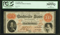 Confederate Notes:1861 Issues, T24 $10 1861 PF-14.. ...