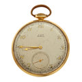 "Timepieces:Pocket (post 1900), Elgin 14k Gold ""De Luxe"". ..."
