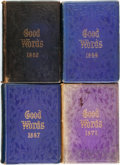 Books:Periodicals, [Norman Macleod, editor.] Good Words for 1862 [1864, 1867, and 1871]. London: A... (Total: 4 Items)