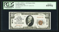 National Bank Notes:Pennsylvania, Tyrone, PA - $10 1929 Ty. 1 The Blair County NB & TC Ch. # 6516. ...
