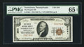 National Bank Notes:Pennsylvania, Norristown, PA - $10 1929 Ty. 1 The Peoples NB Ch. # 2581. ...