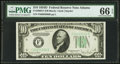 Small Size:Federal Reserve Notes, Fr. 2009-F $10 1934D Federal Reserve Note. PMG Gem Uncirculated 66 EPQ.. ...
