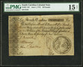 Colonial Notes:South Carolina, South Carolina June 1, 1775 £50 PMG Choice Fine 15 Net.. ...