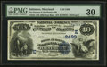 National Bank Notes:Maryland, Baltimore, MD - $10 1882 Date Back Fr. 545 The Drovers &Mechanics NB Ch. # (E)2499. ...