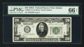 Small Size:Federal Reserve Notes, Fr. 2051-F $20 1928A Federal Reserve Note. PMG Gem Uncirculated 66 EPQ.. ...
