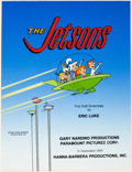Animation Art:Production Drawing, The Jetsons Screenplay Cover Illustration (ParamountPictures/Hanna-Barbera, 1985)....