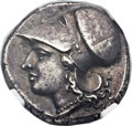 Ancients:Greek, Ancients: SICILY. Syracuse. Agathocles (317-289 BC). AR stater(20mm, 6.79 gm, 12h)....