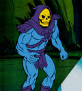 Animation Art:Production Cel, He-Man and the Masters of the Universe Skeletor ProductionCel and Animation Drawing (Filmation, 1984).. ... (Total: 2Original Art)