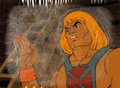 Animation Art:Production Cel, He-Man and the Masters of the Universe Production Cel Setup,Animation Drawings, and Production Folder Group (Filmatio...(Total: 8 Original Art)