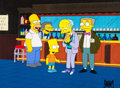 "Animation Art:Production Cel, The Simpsons ""Burns Verkaufen der Kraftwerk"" Homer, Bart,Moe Sizlack, Montgomery Burns, and Waylon Smithers Productio..."