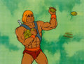 Animation Art:Production Cel, He-Man and the Masters of the Universe Production Cel Setup,Animation Drawings, and Production Folder Group (Filmatio...(Total: 6 Original Art)